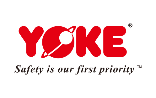 Yoke, Safety is our first priority logo